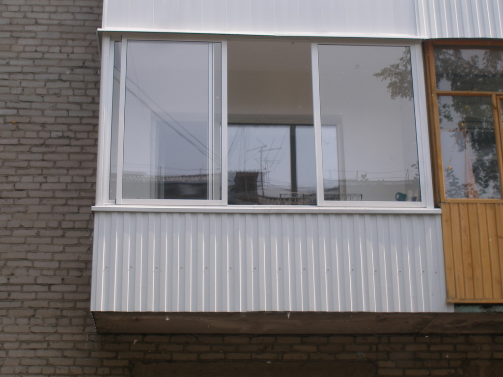Установка пластиковых окон на балконе - лучшее качество осте.